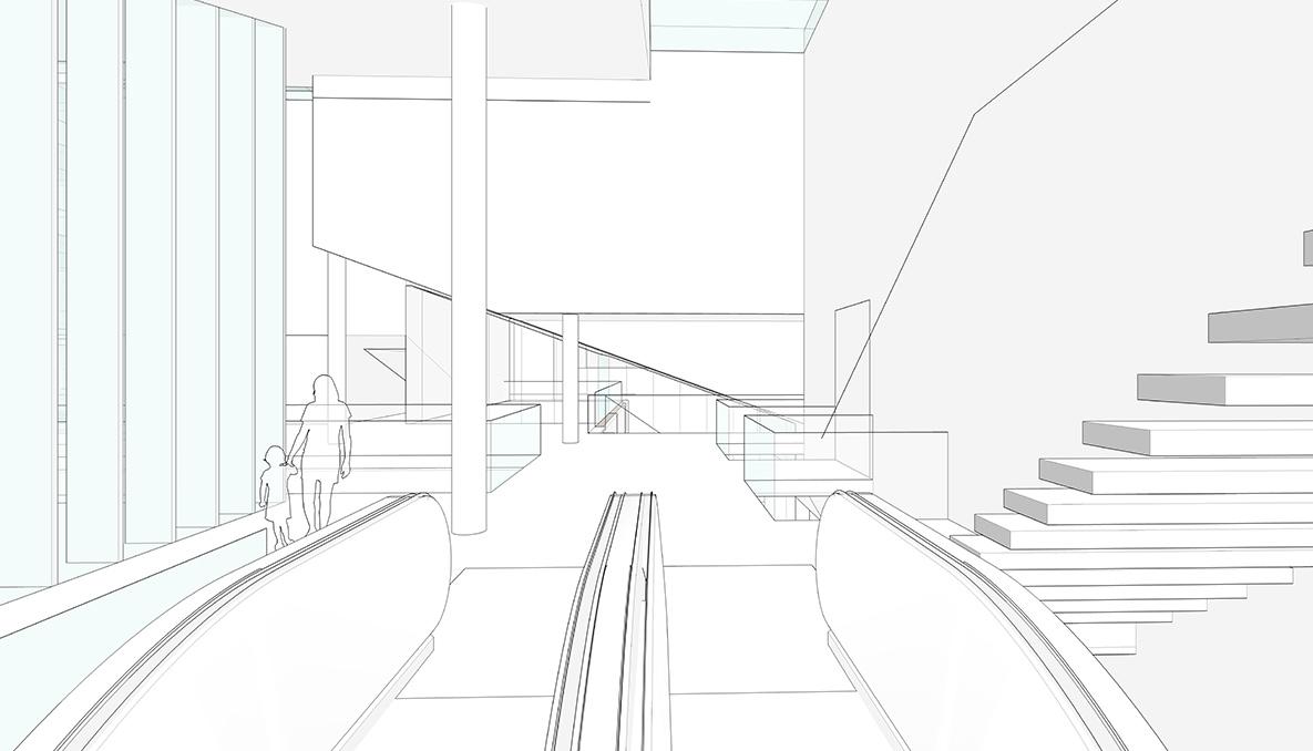 Homines-huizen-cinema-stairway-view
